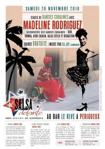 Soirée Salsa de l'association Salsadelante au programme : SALSA CUBAINE , Bachata y FIIIIEEEESSSSSTTTAAAAAAAA .... @ Périgueux | Nouvelle-Aquitaine | France