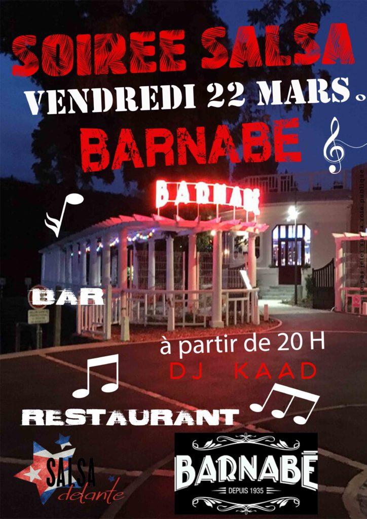 Soirée Salsa @ Barnabé | Périgueux | Nouvelle-Aquitaine | France
