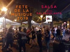 Fete de la Musique SALSA à Périgueux avec salsadelante