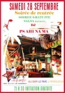 Soirée de rentrée de l'association Salsadelante @ Bar le rive à Périgueux | Périgueux | Nouvelle-Aquitaine | France