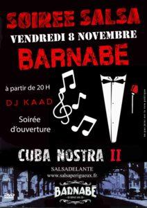 Soirée salsa dans le cadre de la 2eme édition de CUBA Nostra