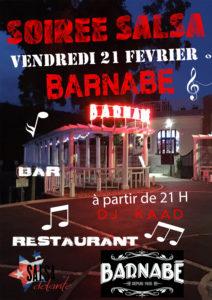 Soirée Salsa au Bar Restaurant La Guinguette Barnabé à Boulazac @ Guinguette Barnabé | Boulazac Isle Manoire | Nouvelle-Aquitaine | France